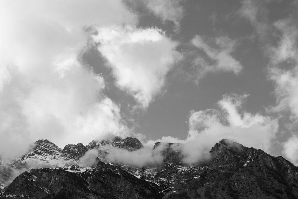 Mountain, Clouds, Berchtesgaden, Schönau, Königssee, 04/2014
